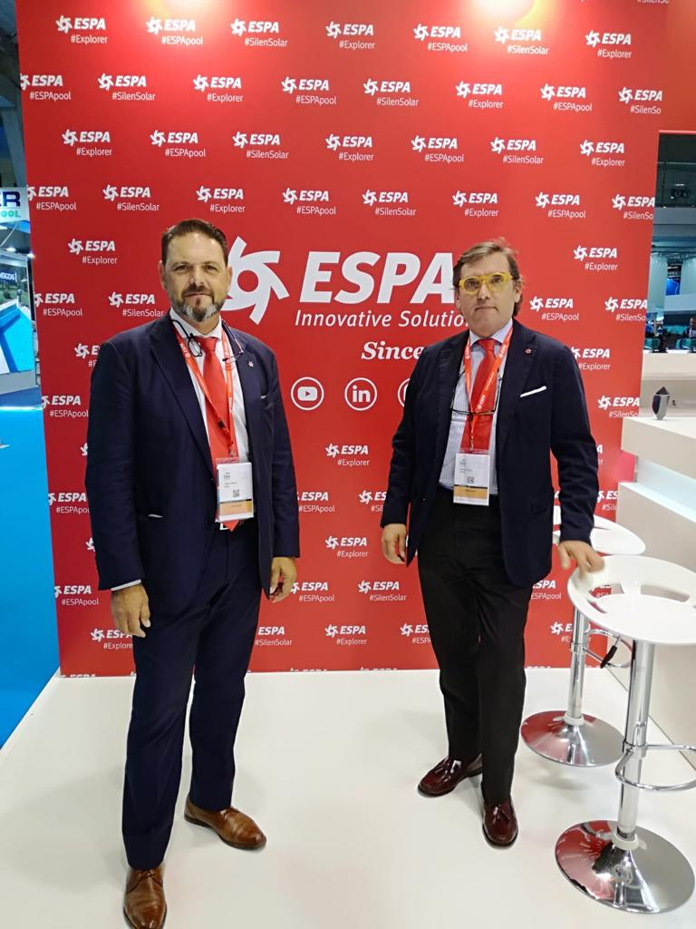 Apelsa presente en Piscina & Wellness Barcelona con ESPA Innovative Solution