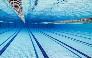 La increíble preparación de las piscinas olímpicas